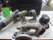 VIPER CORDLESS 18V SET - FAIR CONDITION - DRILL, CIRC SAW, RECIP SAW, FLASHLIGHT